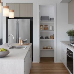 Topus Concrete Caesarstone Quartz Kitchen