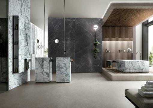 Total Grey Infinity Porcelain Countertop Flooring