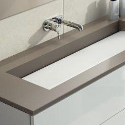 Unsui Silestone Quartz Bathroom