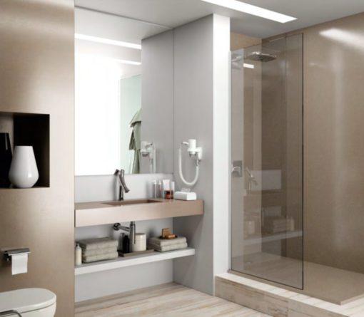 Unsui Silestone Quartz Bathroom1
