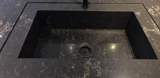 Vanilla Noir Caesarstone Quartz Sink