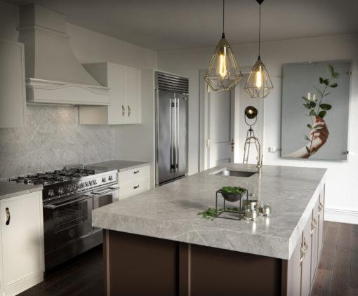 Vera Dekton Kitchen Countertops Island