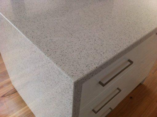 White Diamond Silestone Quartz Counter