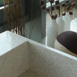 White Diamond Silestone Quartz Kitchen
