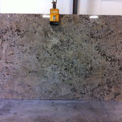 White Equador Granite Slab