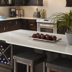 Yukon Blanco Silestone Quartz Kitchen