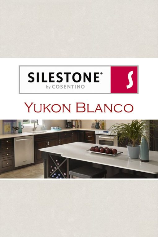 Yukon Blanco Silestone Quartz Sample Kitchen