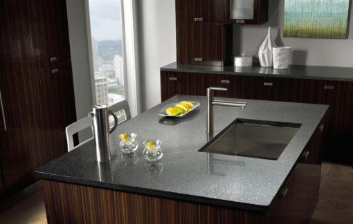 Zirconium Silestone Quartz Kitchen