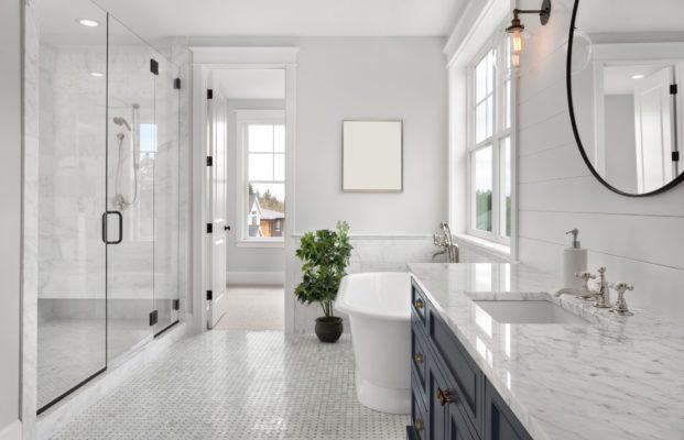 Pretty Solid: Why Quartzite Bathroom Countertops Are a Good Idea Master Bathroom Vanity Countertops