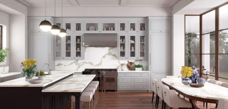 calacatta maximus caesarstone quartz kitchen countertops