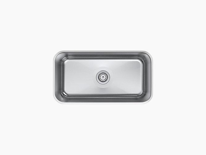 "KOHLER Undertone® Preserve® 31 1/4"" x 17 7/8"" Undermount Sink"