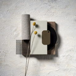 Faro White Silestone Quartz Moodboard
