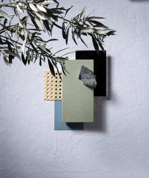 Posidonia Green Silestone Quartz Moodboard